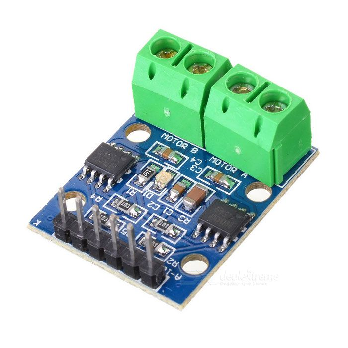 HG7881 Two-Channel Motor Driver Board