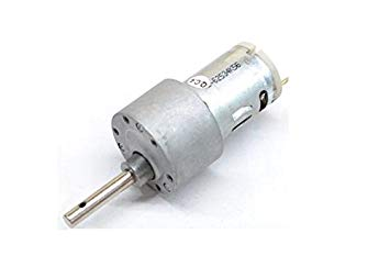 High Torque Side Shaft DC Metal Geared Motor -1000RPM - DC Gear Motor - Motor and Driver