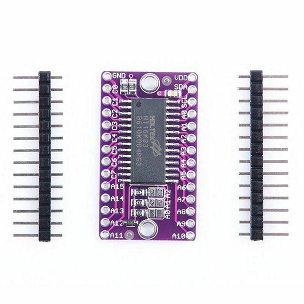 HT16K33 16X8 LED Dot Matrix Drive Control Breakout Module