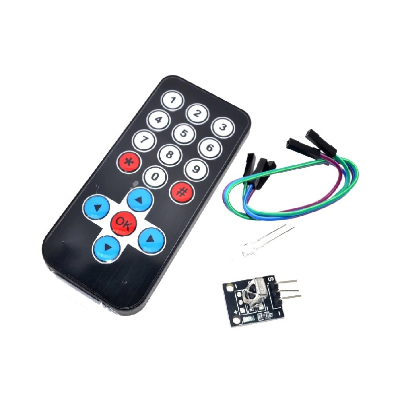 Infrared IR Wireless Remote Control Module Kit for Arduino