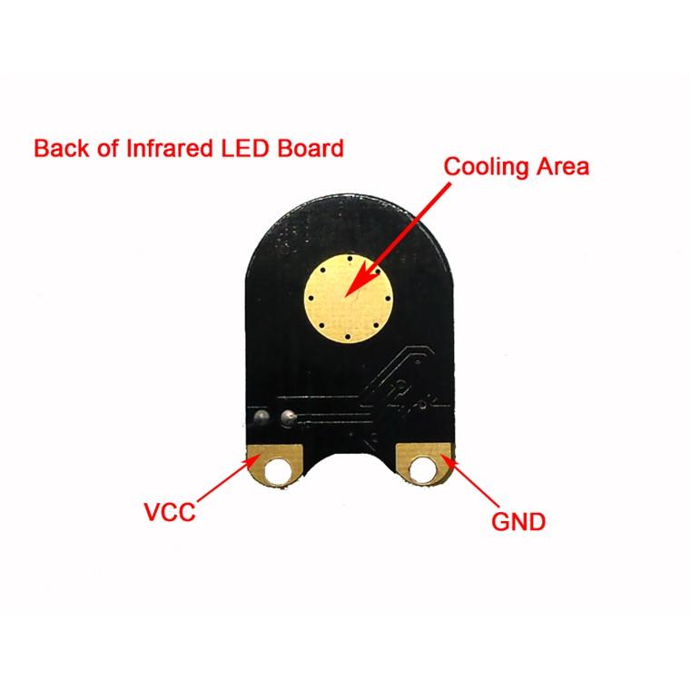 Night Vision Infrared LED 3W for Raspberry Pi Camera - Raspberry Pi Accessories - Raspberry Pi