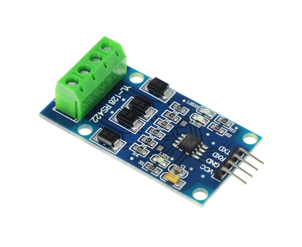MAX490 RS422 Bidirectional Full Duplex Two-Way TTL Signal Conversion Module