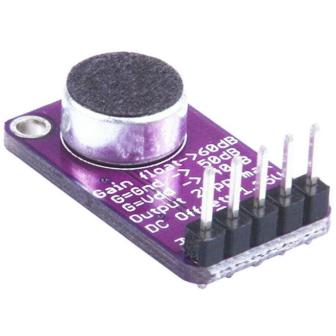 MAX9814 High Performance Microphone AGC Amplifier Module