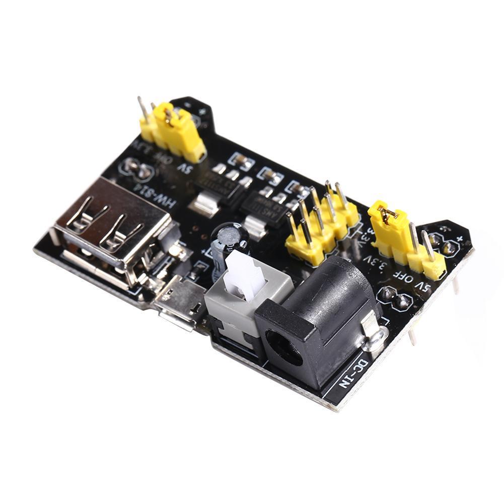 MB102 Breadboard USB/Micro Power Supply Module Dual USB Input Board