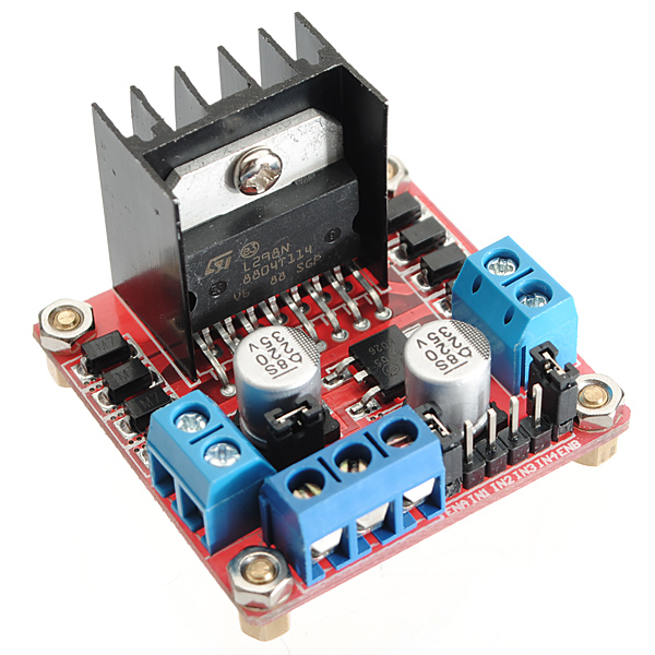 L298N Motor Driver Module For Arduino - Stepper Motor and Drivers - Motor and Driver