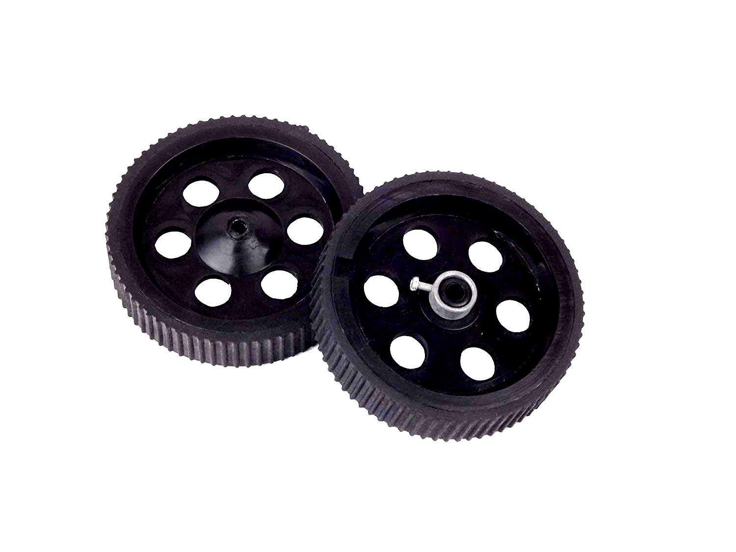 Robot Wheel 10 x 2 cm for Motors