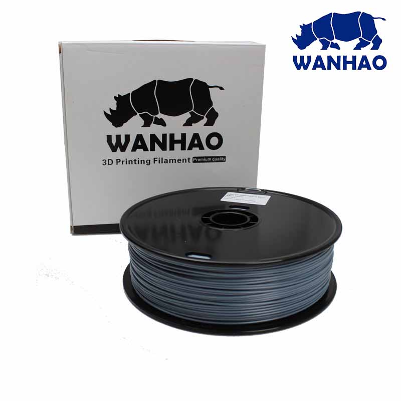 WANHAO Gray PLA 1.75 mm 1 Kg Filament For 3D Printer – Premium Quality Filament - Filament - 3D Printer and Accessories